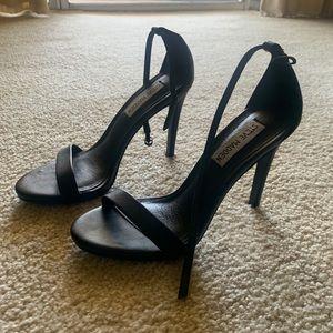 Steve Madden Black Heel Sandal